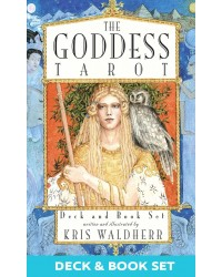 The Goddess Tarot Cards Deck and Book Set