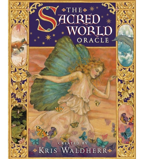 The Sacred World Oracle Cards at All Wicca Store Magickal Supplies, Wiccan Supplies, Wicca Books, Pagan Jewelry, Altar Statues