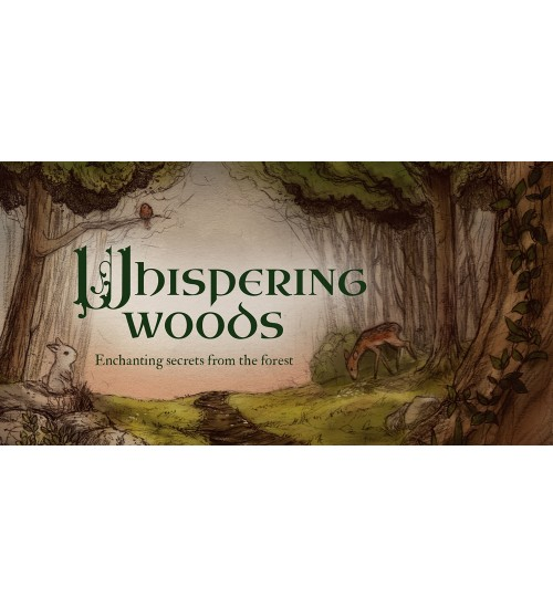 Whispering Woods Inspiration Cards at All Wicca Store Magickal Supplies, Wiccan Supplies, Wicca Books, Pagan Jewelry, Altar Statues