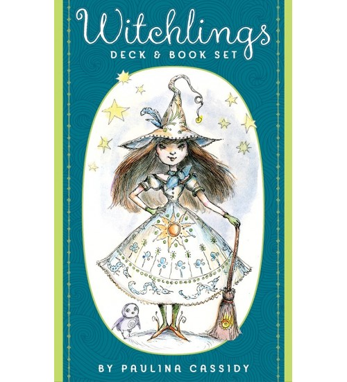 Witchlings Cards & Book Set at All Wicca Store Magickal Supplies, Wiccan Supplies, Wicca Books, Pagan Jewelry, Altar Statues