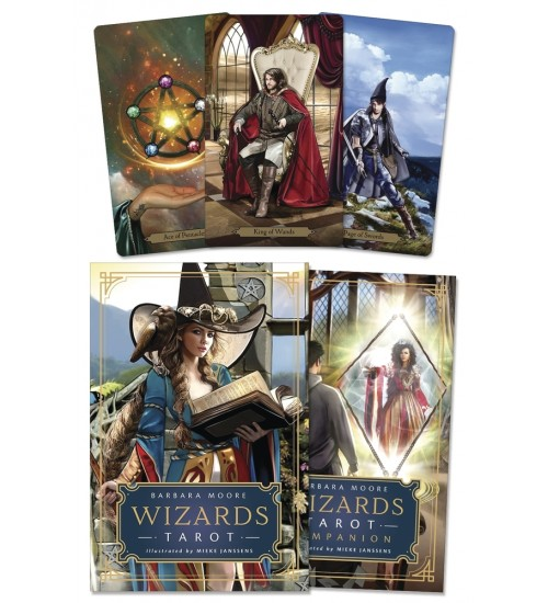 Wizards Tarot Kit at All Wicca Store Magickal Supplies, Wiccan Supplies, Wicca Books, Pagan Jewelry, Altar Statues