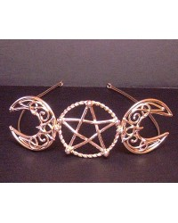 Triple Goddess Large Bronze Circlet All Wicca Store Magickal Supplies Wiccan Supplies, Wicca Books, Pagan Jewelry, Altar Statues