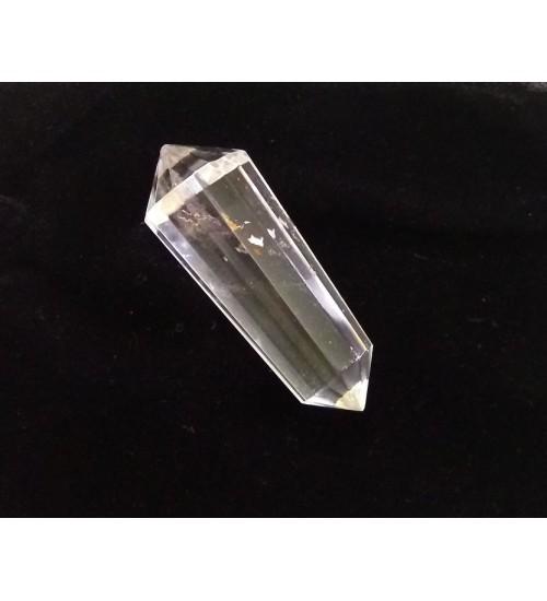 Vogel 12 Facet Clear Quartz Crystal for Activation