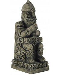 Thor, Norse God with Hammer Statue