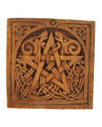 Celtic Pentacle Small Wall Plaque All Wicca Store Magickal Supplies Wiccan Supplies, Wicca Books, Pagan Jewelry, Altar Statues