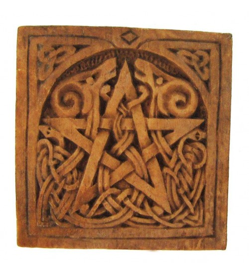 Celtic Pentacle Small Wall Plaque at All Wicca Store Magickal Supplies, Wiccan Supplies, Wicca Books, Pagan Jewelry, Altar Statues