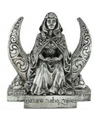 Moon Goddess Pagan Altar Statue All Wicca Store Magickal Supplies Wiccan Supplies, Wicca Books, Pagan Jewelry, Altar Statues
