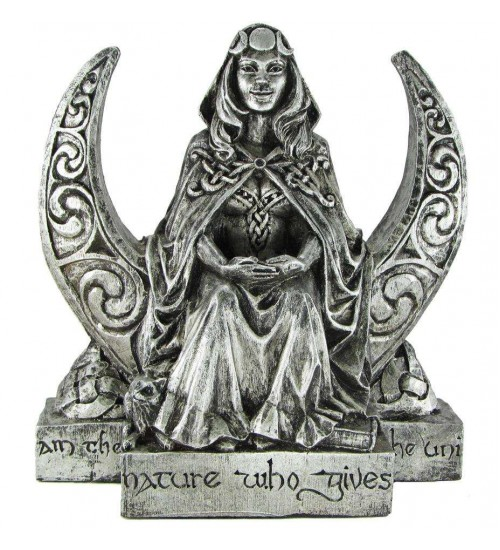 Moon Goddess Pagan Altar Statue at All Wicca Store Magickal Supplies, Wiccan Supplies, Wicca Books, Pagan Jewelry, Altar Statues