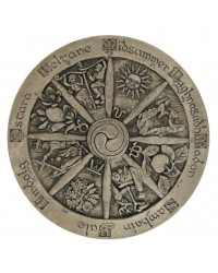 Wiccan Wheel of the Year Plaque All Wicca Store Magickal Supplies Wiccan Supplies, Wicca Books, Pagan Jewelry, Altar Statues