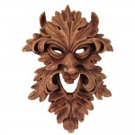 Leafman Pagan Greenman Wall Plaque
