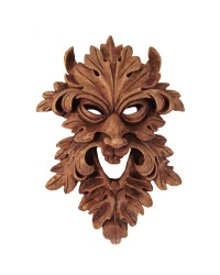 Leafman Pagan Greenman Wall Plaque All Wicca Store Magickal Supplies Wiccan Supplies, Wicca Books, Pagan Jewelry, Altar Statues