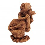 Baba Yaga Russian Witch Statue