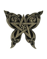 Butterfly Pentacle Wall Plaque All Wicca Store Magickal Supplies Wiccan Supplies, Wicca Books, Pagan Jewelry, Altar Statues