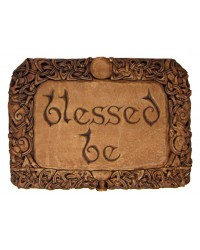 Blessed Be Wiccan Wall Plaque All Wicca Store Magickal Supplies Wiccan Supplies, Wicca Books, Pagan Jewelry, Altar Statues