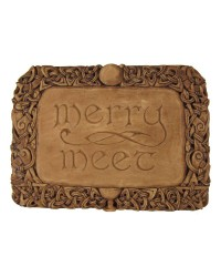 Merry Meet Pagan Wall Plaque All Wicca Store Magickal Supplies Wiccan Supplies, Wicca Books, Pagan Jewelry, Altar Statues