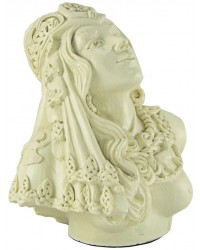 Rhiannon Celtic Goddess Bone Finish Statue