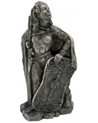 Morrigan Celtic War Goddess Statue