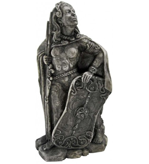 Morrigan Celtic War Goddess Statue at All Wicca Store Magickal Supplies, Wiccan Supplies, Wicca Books, Pagan Jewelry, Altar Statues
