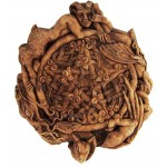 Fairy Pentacle Small Wood Finish Plaque
