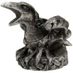 Raven Mini Pewter Candle Holder