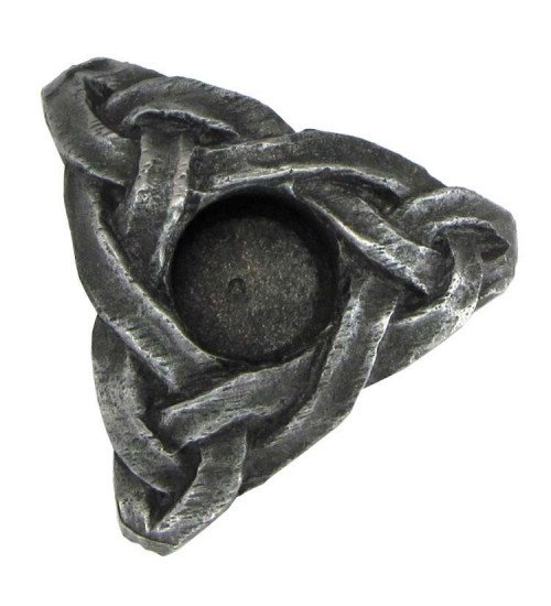 Triskelion Mini Pewter Candle Holder at All Wicca Store Magickal Supplies, Wiccan Supplies, Wicca Books, Pagan Jewelry, Altar Statues