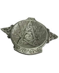 Moon Phase Pentacle Offering Bowl in Pewter All Wicca Supply Shop Wiccan Supplies, All Wicca Books, Pagan Jewelry, Wiccan Altar Statues