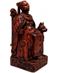 Freya, Norse Goddess of Love Seated Statue All Wicca Store Magickal Supplies Wiccan Supplies, Wicca Books, Pagan Jewelry, Altar Statues