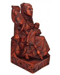 Frigga, Norse Queen of the Gods, Seated Statue