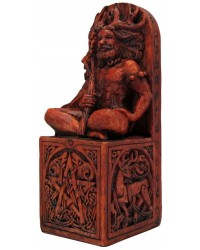 Forest God Seated Statue