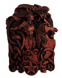 Morrigan Celtic Goddess Wall Plaque All Wicca Store Magickal Supplies Wiccan Supplies, Wicca Books, Pagan Jewelry, Altar Statues