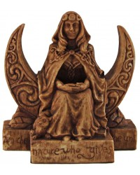 Moon Goddess Pagan Small Altar Statue All Wicca Store Magickal Supplies Wiccan Supplies, Wicca Books, Pagan Jewelry, Altar Statues