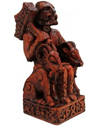 Thor, Norse God Seated Statue