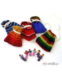 Worry Dolls Handmade Mini Set All Wicca Magickal Supplies Wiccan Supplies, Wicca Books, Pagan Jewelry, Altar Statues