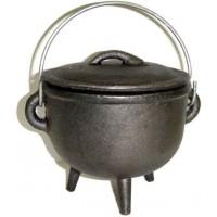Cast Iron 4.5 Inch Witches Cauldron