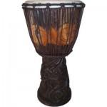 Dragon Carved Adjustable Djembe Drum
