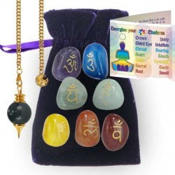 Chakra Energizing Kit All Wicca Wiccan Altar Supplies, All Wicca Books, Pagan Jewelry, Wiccan Statues