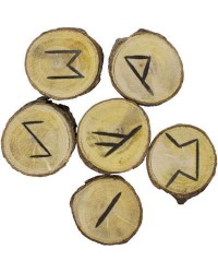 Wood Rune Set All Wicca Store Magickal Supplies Wiccan Supplies, Wicca Books, Pagan Jewelry, Altar Statues