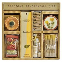 Precious Sandalwood Gift Set by Auroshikha All Wicca Wiccan Altar Supplies, Books, Jewelry, Statues