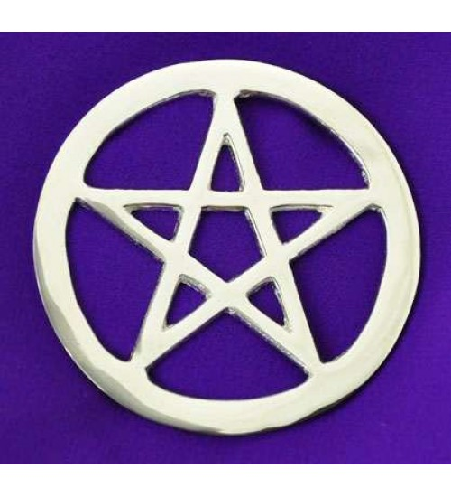 Pentacle 3 Inch Altar Pentacle at All Wicca Store Magickal Supplies, Wiccan Supplies, Wicca Books, Pagan Jewelry, Altar Statues
