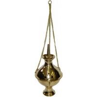 Hanging Brass Incense Burner - 6 Inch