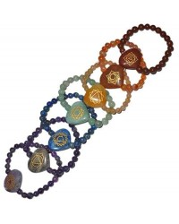 7 Heart Chakra Gemstone Bracelets All Wicca Magickal Supplies Wiccan Supplies, Wicca Books, Pagan Jewelry, Altar Statues
