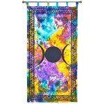 Triple Moon Tie Die Curtain