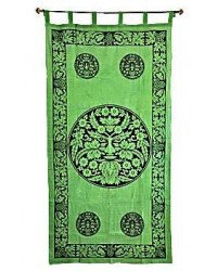Greenman Curtain All Wicca Store Magickal Supplies Wiccan Supplies, Wicca Books, Pagan Jewelry, Altar Statues