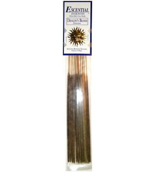 Dragons Blood Escential Essences Incense at All Wicca Store Magickal Supplies, Wiccan Supplies, Wicca Books, Pagan Jewelry, Altar Statues