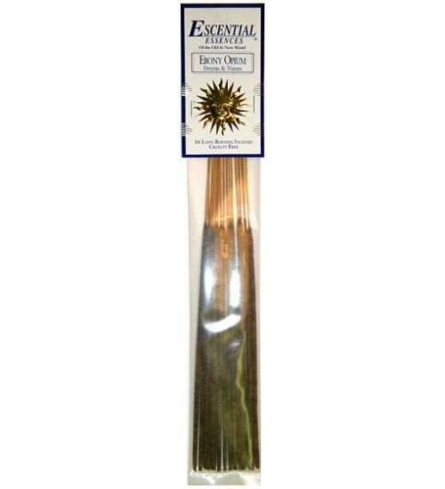 Ebony Opium Escential Essences Incense