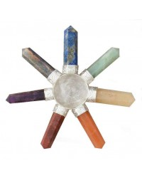 7 Chakra Crystal Energy Generator All Wicca Magickal Supplies Wiccan Supplies, Wicca Books, Pagan Jewelry, Altar Statues