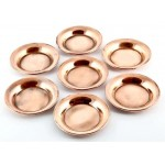 Copper Offering Plate Set of 7