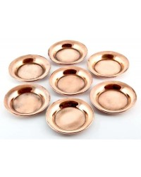 Copper Offering Plate Set of 7 All Wicca Store Magickal Supplies Wiccan Supplies, Wicca Books, Pagan Jewelry, Altar Statues