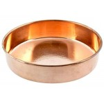 Plain Copper Offering Plate