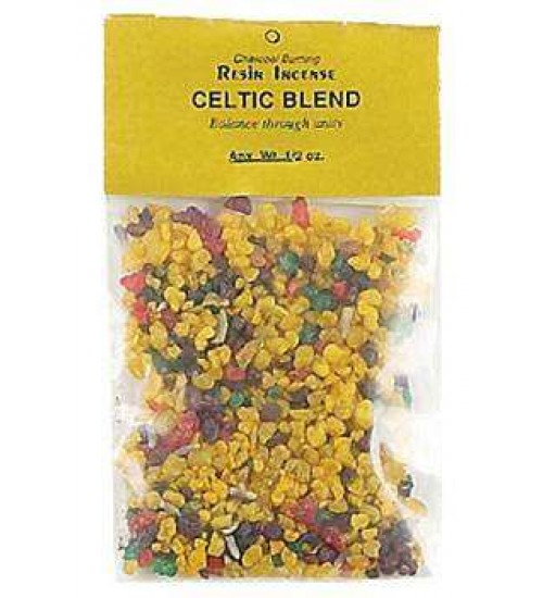 Celtic Blend Resin Incense at All Wicca Store Magickal Supplies, Wiccan Supplies, Wicca Books, Pagan Jewelry, Altar Statues